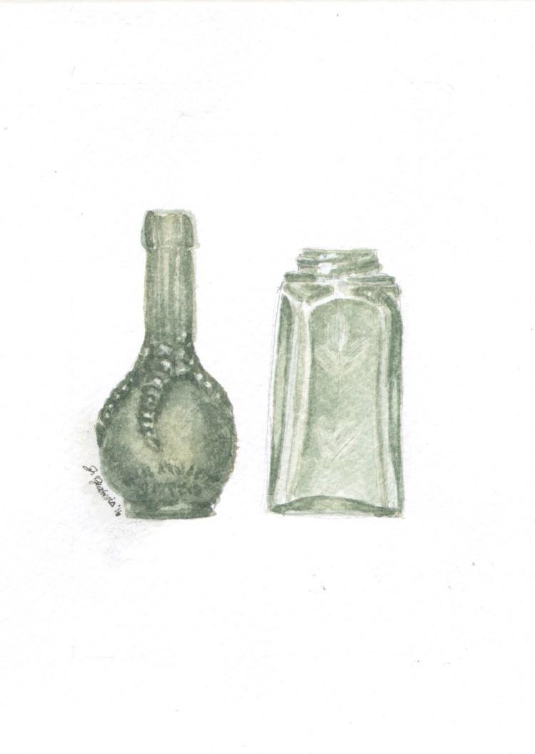 Green vases StillLife_GreenVases_WC
