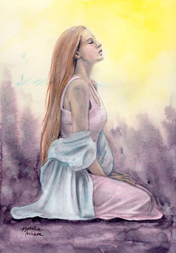 #WorldWatercolorGroup - Watercolor by Natalie Mecham - Truth - #doodlewash