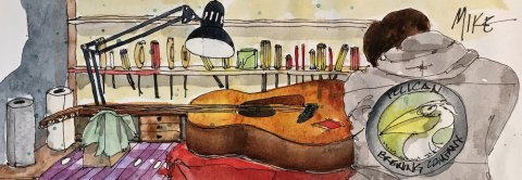 """GUEST ARTIST: """"Many Lives, Many Influences"""" by D. Katie Powell"""