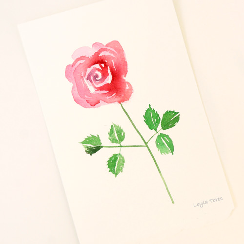July is World Watercolor Month. To celebrate, I\'m painting and giving away an original waterc
