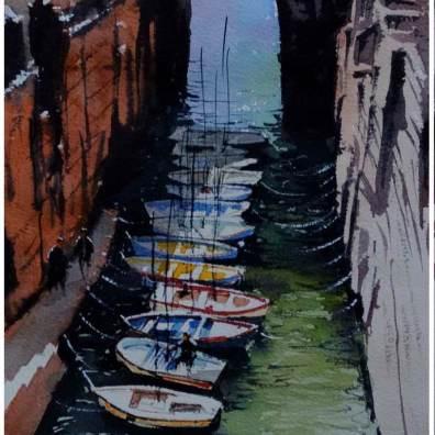 World Watercolor Month - Watercolour Painting by Daniliuc Ionut-Alin - Doodlewash
