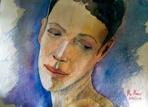 Face! watercolors on 300 gr paper 42 x 30 cm 20170401_130244 (Large)