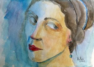 face… watercolors on handmade paper 42 x 30 cm 20170707_111933 (Large)