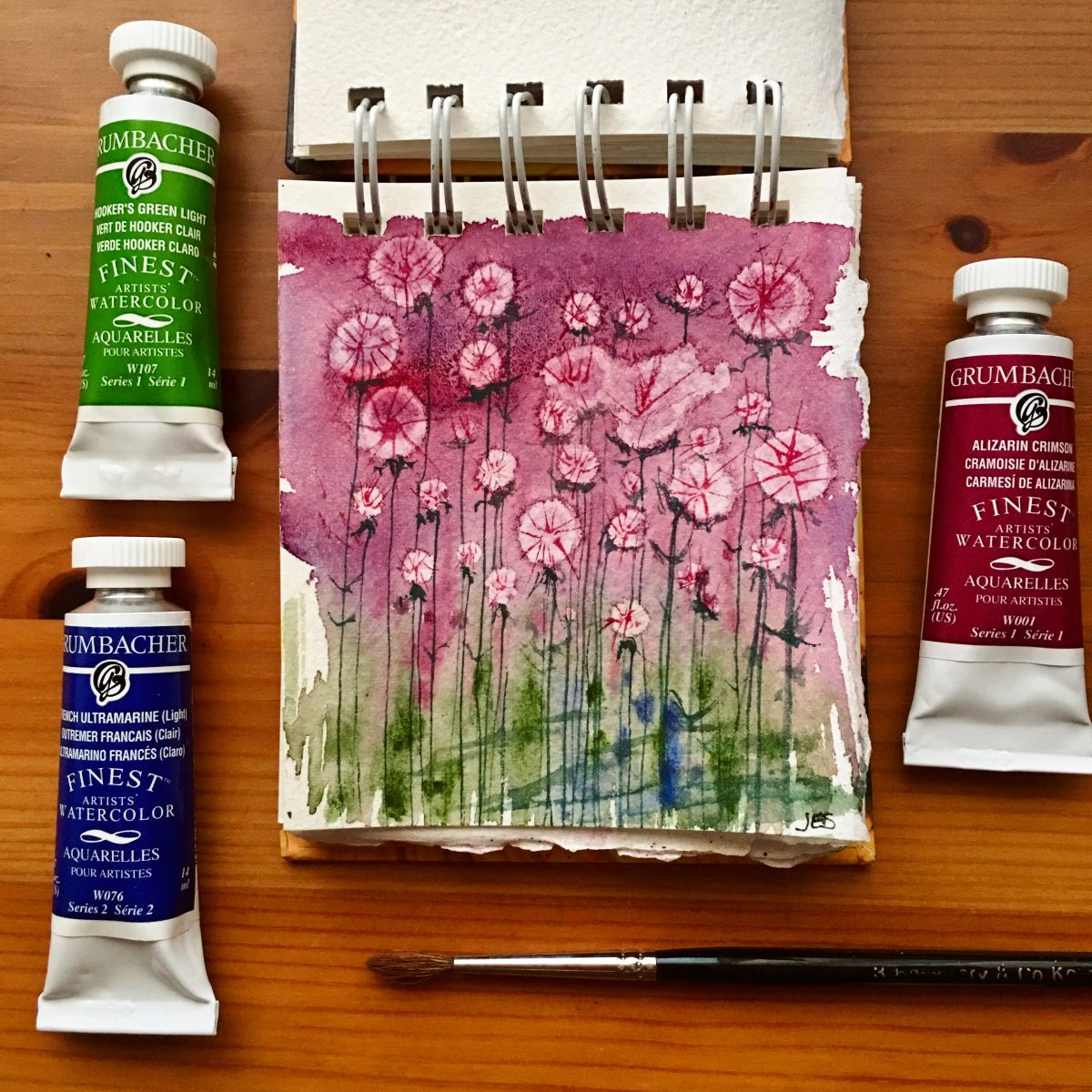 doodlewash review grumbacher finest artists watercolor doodlewash
