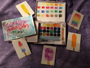 Day 13: Popsicles #WorldWatercolorMonth IMG_6089