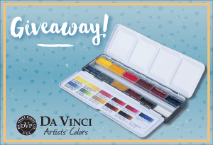 Da Vinci Paint Co. World Watercolor Month Weekly Giveaway