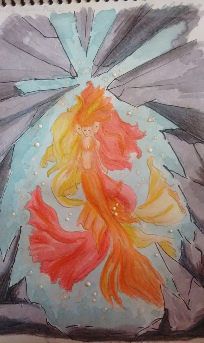"and this one is for ""Blue, red and White"" #WorldWatercolorMonth deep_ocean_floor_by_sair"