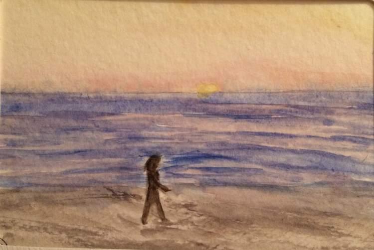 California Dreaming. Watching sunset on the ocean. fullsizeoutput_126