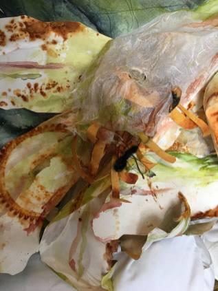 #WorldWatercolorGroup - Mixed Media Detail by Lynda DeGrow Kingsley - Doodlewash