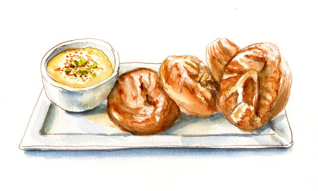 Day 12 - Freshly Made Bread_Pretzel Bread With Cheese