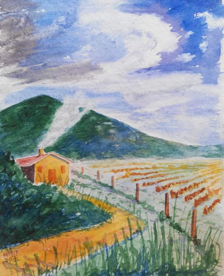Farm and sky (10*6″) IMG_20170929_140712