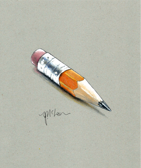 """""""Can I borrow your pencil?"""" Having such fun on Global Art Kona grey paper. I may have to"""