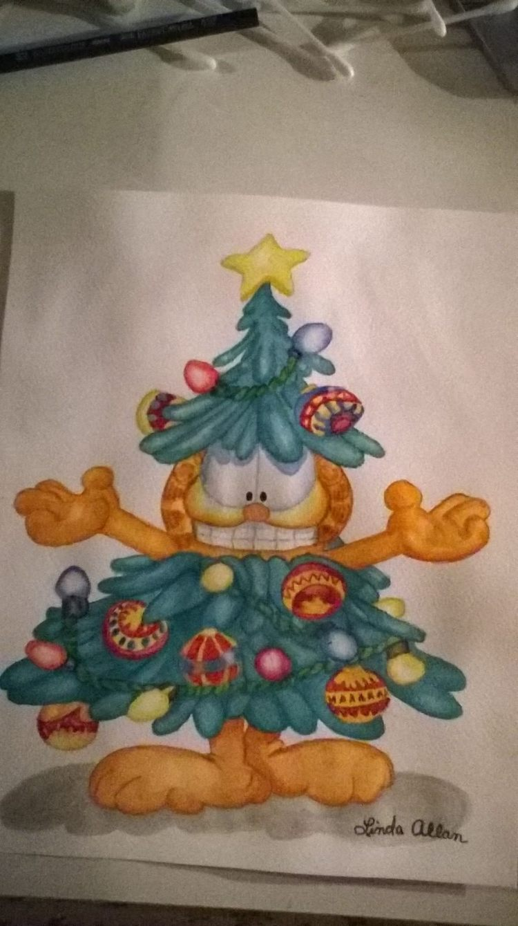 This was a gift for a special little girl Safyre Terry, her family had asked for a Christmas card to