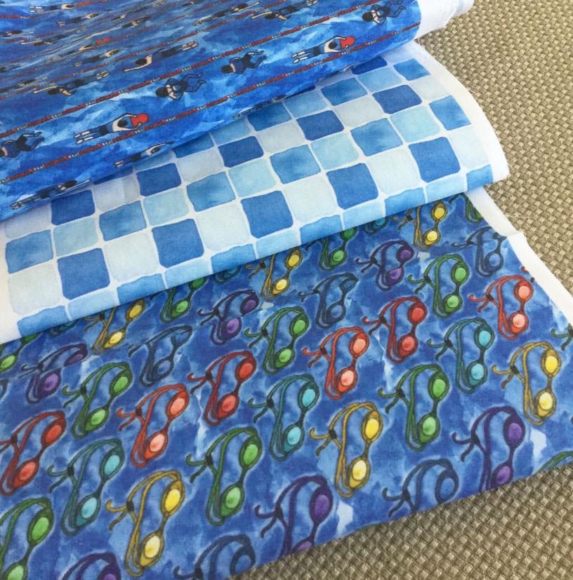 Artwork Fabric print patterns by Eileen McKenna