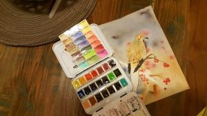 Well….I already have the other limited botanical palette, so I know this is a bargain! WIP 150