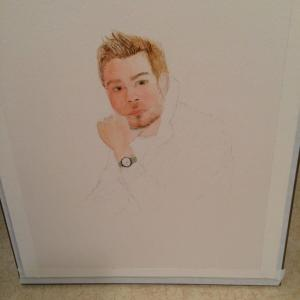 First attempt at portraiture with watercolor….. 3E0431B3-A79B-4BBB-959A-6F36EB272918