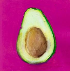 #WorldWatercolorGroup - Watercolor by Bree Smith - Avocado - Doodlewash