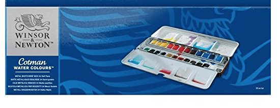 I'm waiting for this aquarelle box (good price at amazon.com), but the don't have units