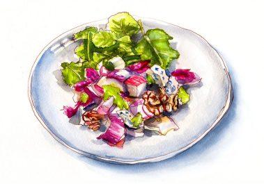 Day 3 _ A Fresh Autumn Salad