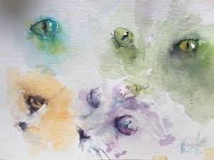 Cat eyes studies – always a good warm up exercise cat eyes-4