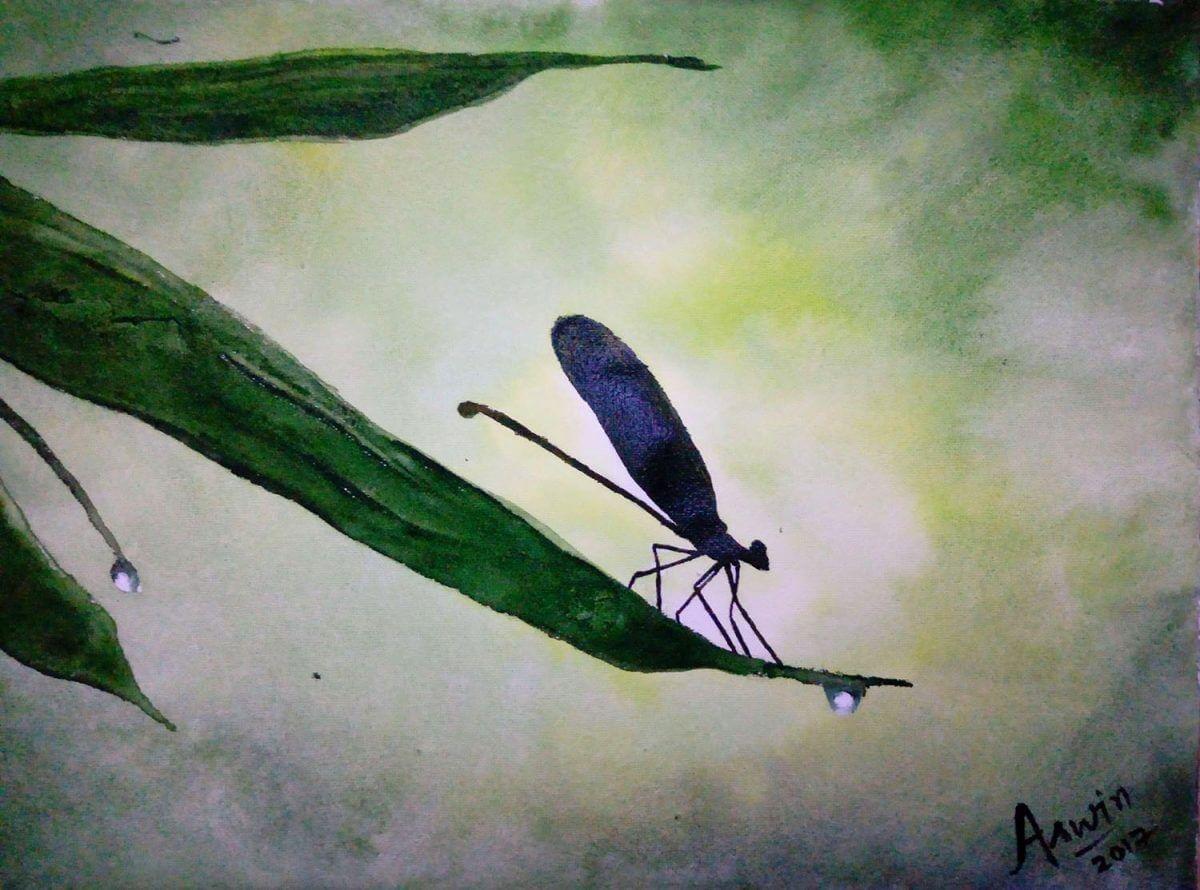 #WorldWatercolorGroup - Watercolor by Aswin Sai Narain - Doodlewash