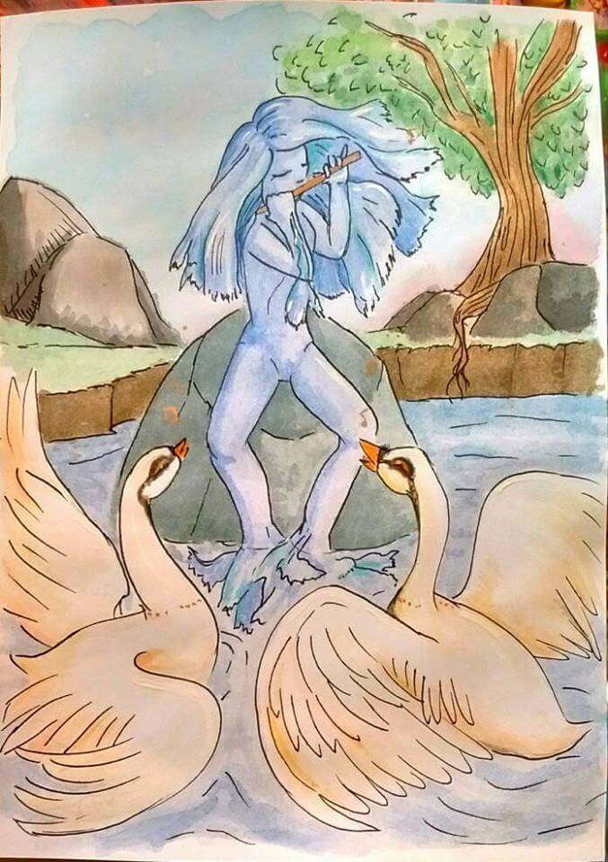 A Nereid making some swans dance and sing n.n song_of_the_birds_by_saironwen-dbado6o