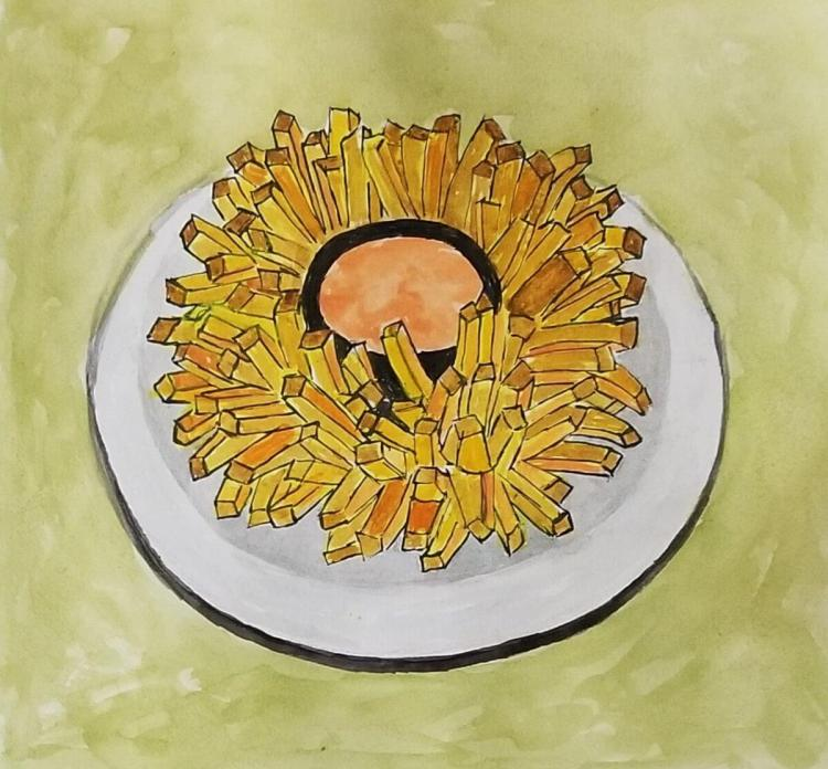 12/5/2017 Onions One of my favorite things to eat, a Bloomin\' Onion! 20171104_194220