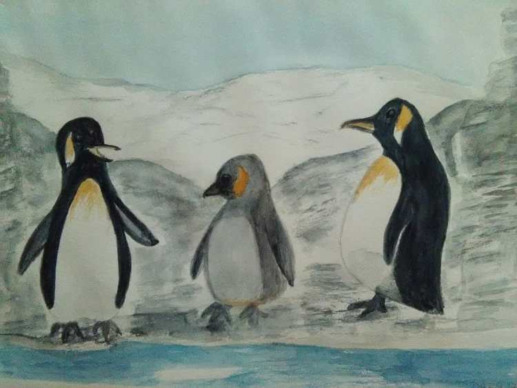I've finished the Penguin Family of Sandrine Step-Outs. IMG_20171130_123252