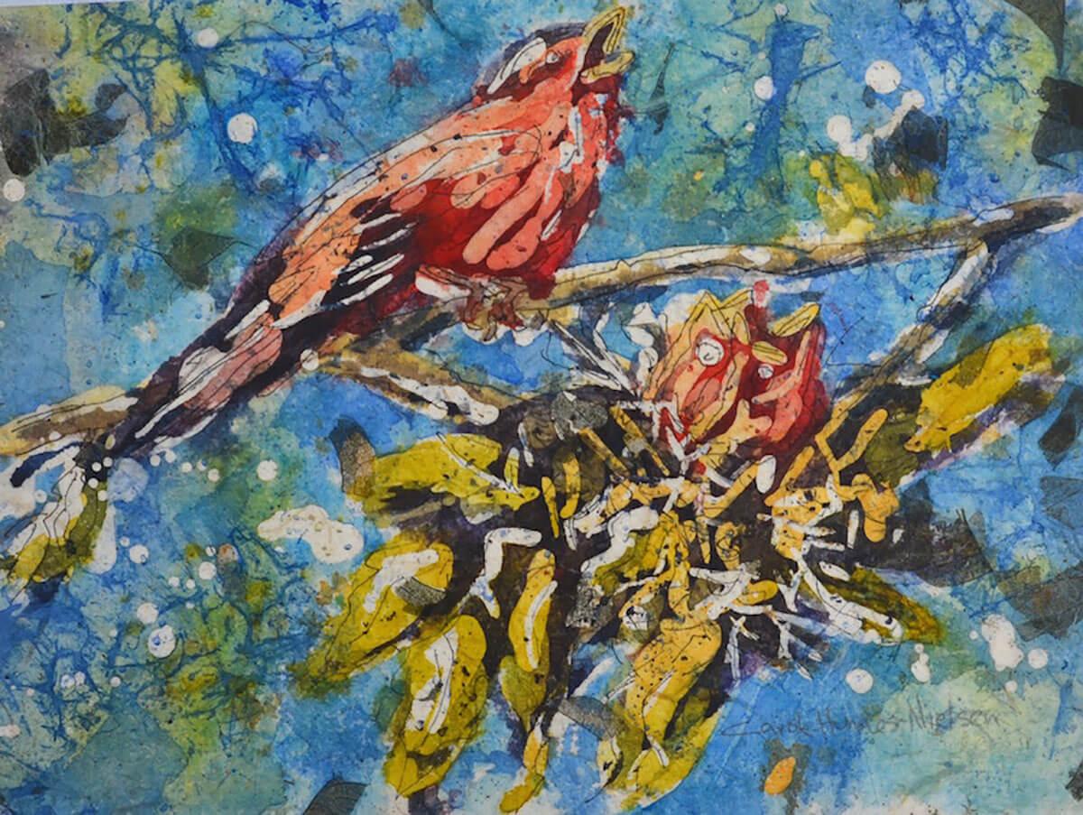 #WorldWatercolorGroup - Watercolor by Carole Hunnes-Nielsen - Doodlewash