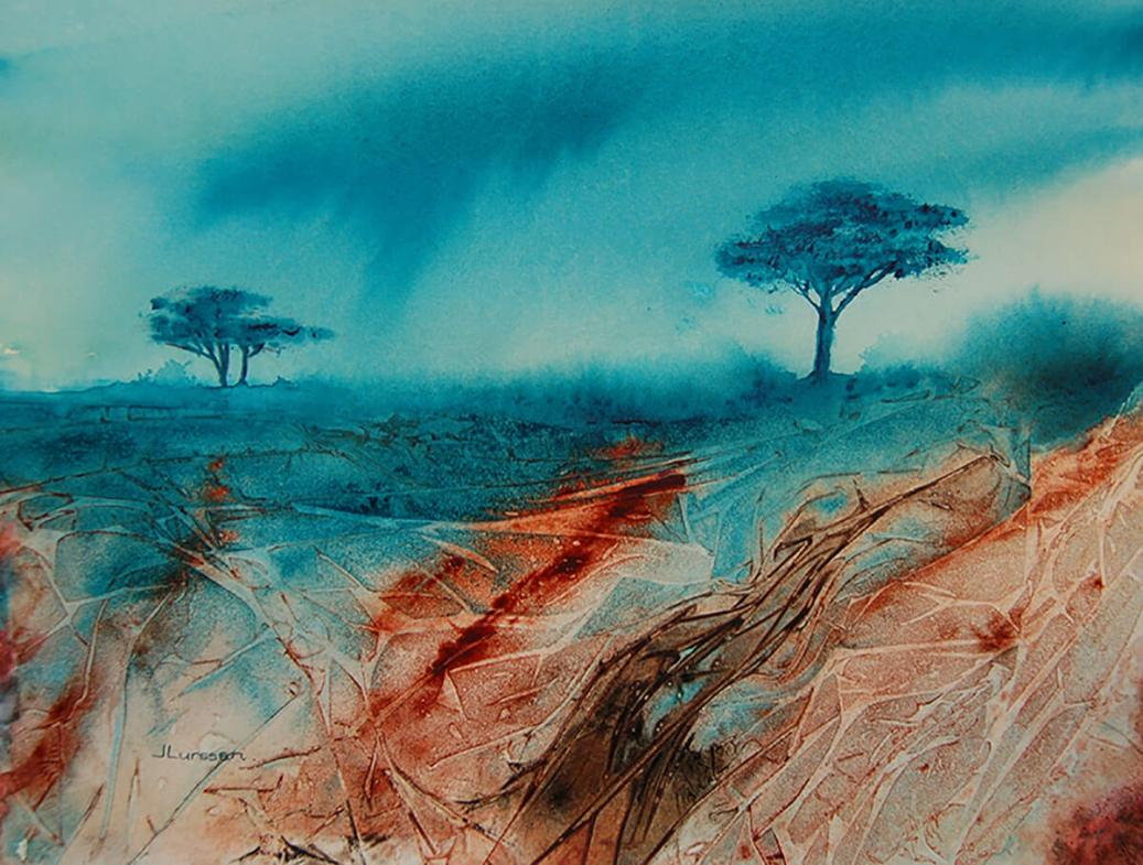 Guest Artist The Luminosity Of Watercolors By Jean