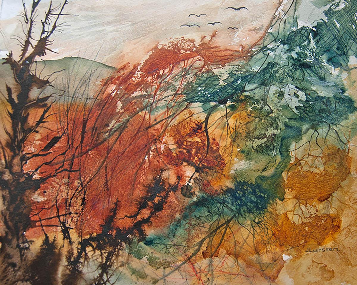 #WorldWatercolorGroup - Watercolor Painting by Jean Lurssen - Doodlewash