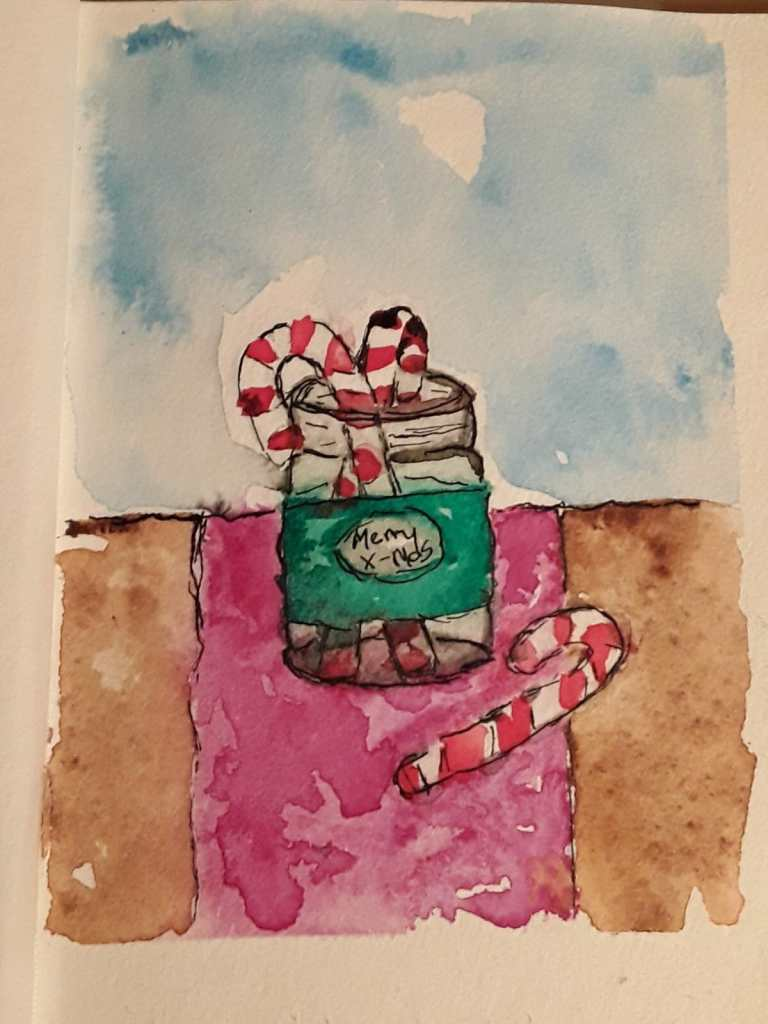 Starting the December Challenge a few days late 12.1.17 Candy Canes 15123594679201790972265