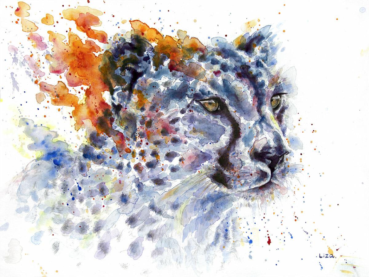 #WorldWatercolorGroup - Watercolor painting by Liza Gonen - Doodlewash