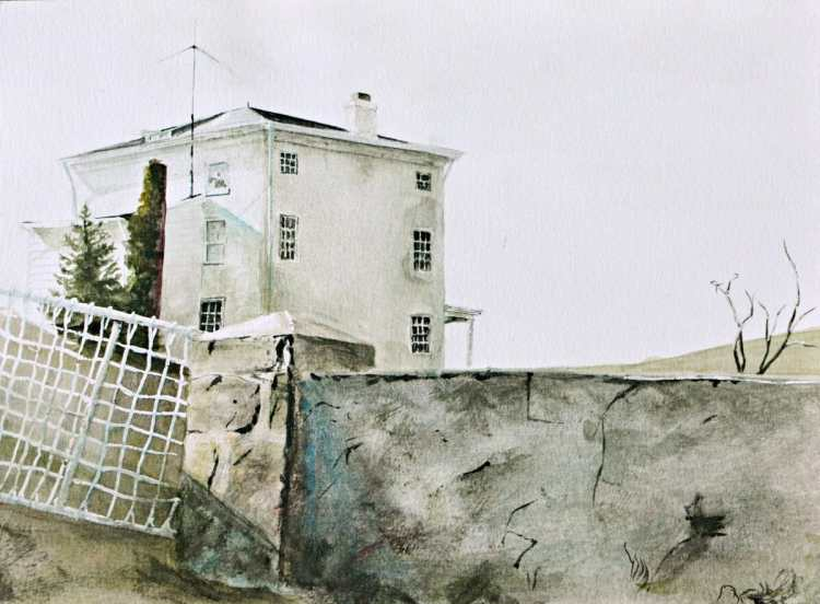 Study on Andrew Wyeth 68