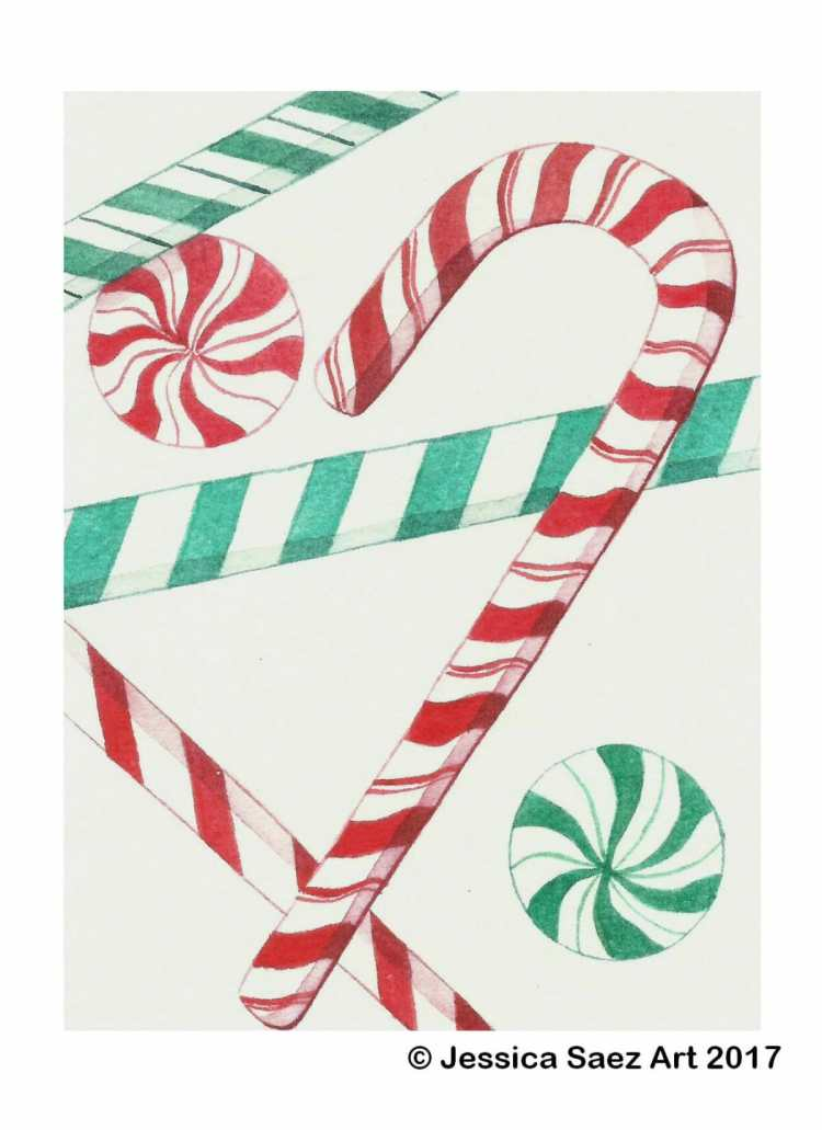 I don't like peppermint, but they sure are pretty to look at. Candy Canes