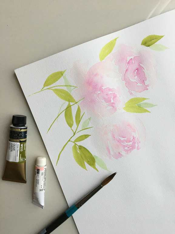 #WorldWatercolorGroup - Watercolor painting by Yen Torng - Artsy With Sam - Doodlewash