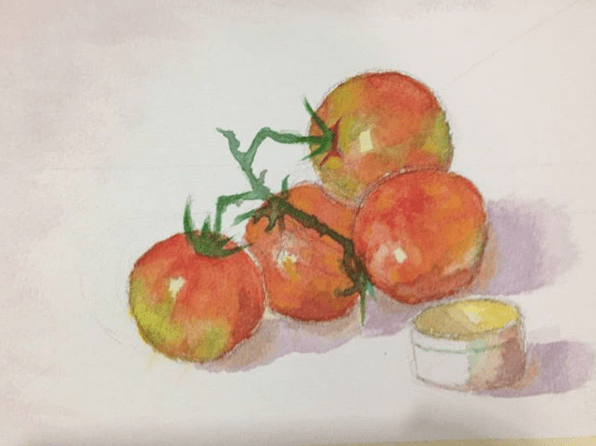 Tomatoes || 9×12 in Screen Shot 2017-12-21 at 12.31.20 AM