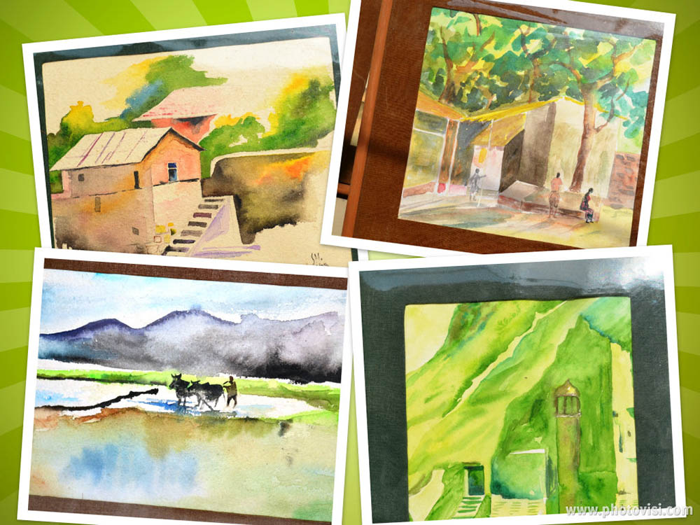 #WorldWatercolorGroup - Watercolors by Seema Misra - Doodlewash