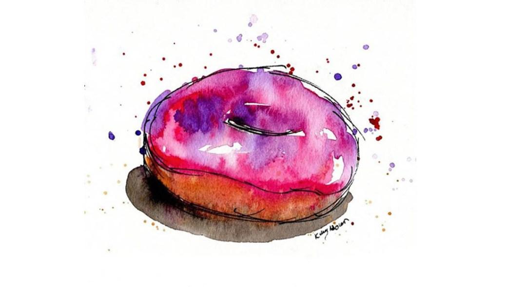 #WorldWatercolorGroup - Watercolor by Kelsey Nolan - Doodlewash