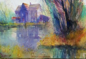 049_2018 Watercolor / Fabriano Artistico grana grossa / rough – 300g/m / 140 lbs – ca. 56 x 38 c