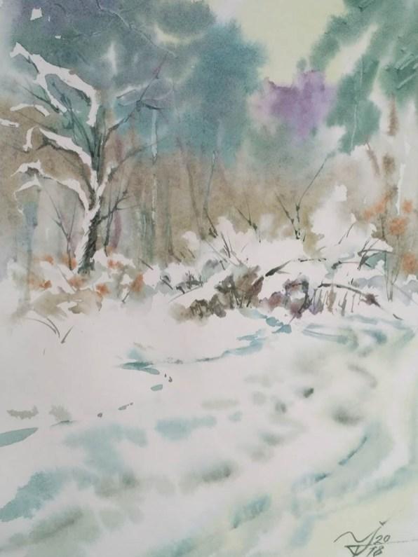 #WorldWatercolorGroup - Watercolor by Igor Trokhymenko - Doodlewash