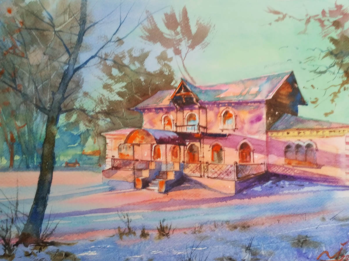 #WorldWatercolorGroup - Watercolor by Igor Trokhymenko - Doodlewash
