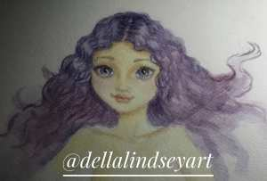 Can you tell I sorta love #purple ? And #watercolor ? ❤😍😊 29094028_4701787234