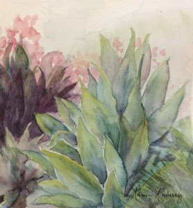 """""""Sunny Triad"""" watercolor study, 8"""" x 8.5"""" F74C6494-D9C6-4D07-98BA-47EFB03E960E"""