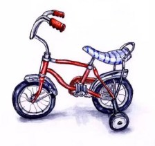 Watercolor Sketching Memories - Training Wheels