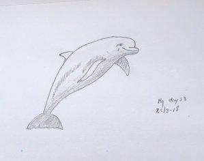 Day 33 Dolphin 20180325 Dolfijn dag 33