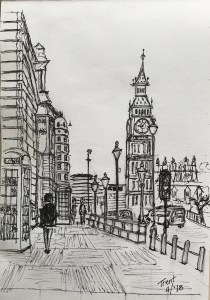 Sketch of Big Ben from a lesson in AT. I'm planning to ad color. 95251EB7-8DB1-46D3-959B-E938AE1FA