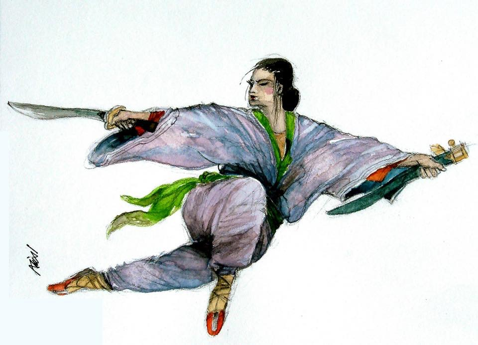 Illustrations for Chinese martial arts E063AF70-2303-44B2-9B53-2846D5B95B0DD6BEEE59-F6AE-4216-96FD-B
