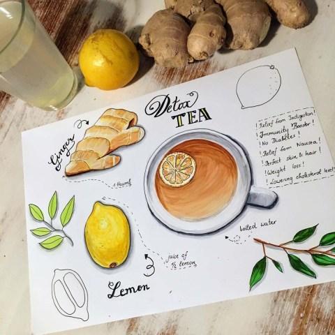 Doodlewash - Illustration by Elena @dancelovedraw