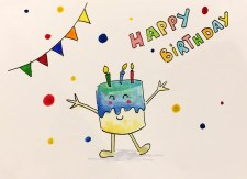 Birthday Card From Philippe